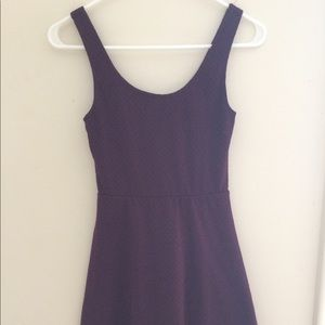 Wine Colored Dress XS